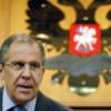 Лавров: Запад «шантажирует» Россию по Сирии