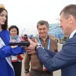 Бэла Кукан и Дмитрий Козак