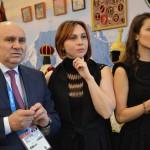 Вице-губернатор  Кк Джамбулат Хатуов, Сусанна Макерова и Сати Казанова