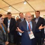 Д.Хатуов и члены зарубежной черкесской делегации