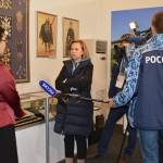 Журналисты телеканала Россия в музее Дома Адыга1