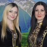 Марина Мамехегова и Сусанна Даутова