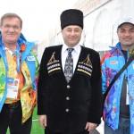 Нихат Напсо, Альберт Тлячев и Мухамед Хасани
