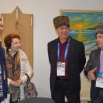Первый зам. мэра Сочи Виктор Филонов с супругой в Кунацкой