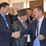 Президент МЧА Хаути Сохроков и Дмитрий Козак