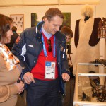 Сергей Нарышкин в музее Дома Адыга