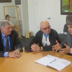 Встреча с представителями МЧА (ICA)